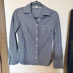 4/$20 J Crew 100% Cotton Horizontal Stripes Shirt
